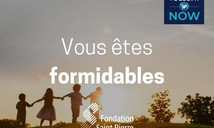 La Fondation Saint-Pierre a un message pour vous. 💌